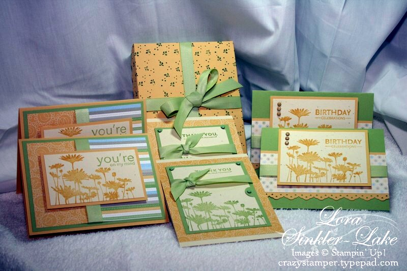 Upsy Daisy Card Box Set