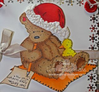 Popcorn Bear Santa Letter 003 Close